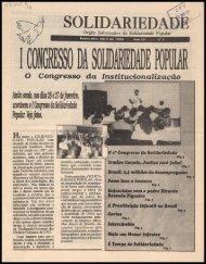 solidariedade - Centro de Documentação e Pesquisa Vergueiro