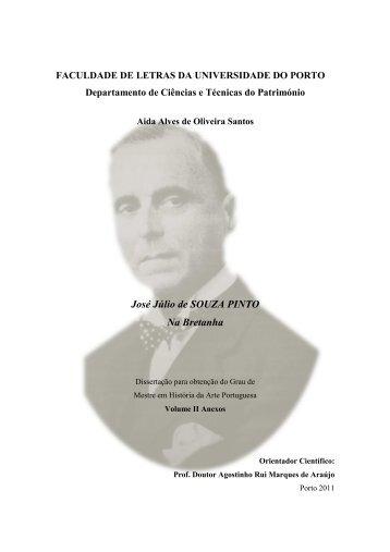 José Júlio de SOUZA PINTO Na Bretanha - Repositório Aberto da ...