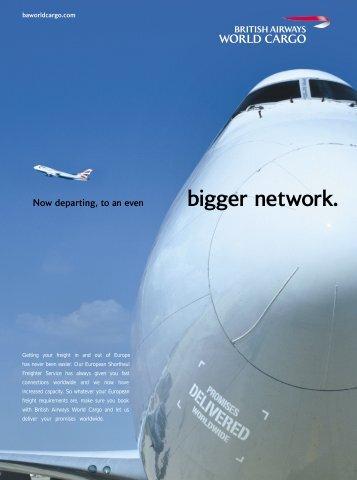 Short Haul Freighters Schedule pdf - British Airways World Cargo