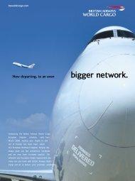 bigger network. - British Airways World Cargo