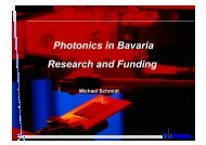 Photonics in Bavaria - bayern photonics eV