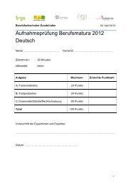 Unverhofftes Wiedersehen - Wirtschaftsschule KV Chur