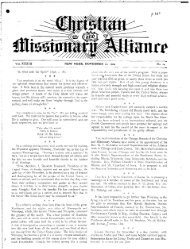 ,* 0 @ - Christian and Missionary Alliance