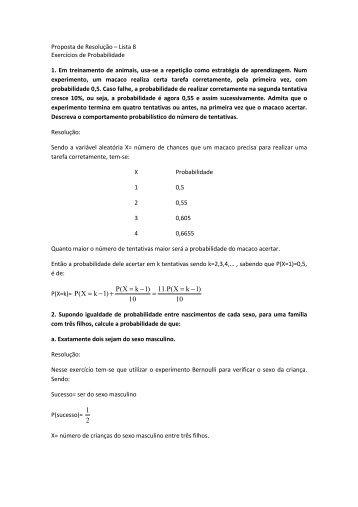 Proposta de Resolução_Probabilidade_Lista8 - ICEB