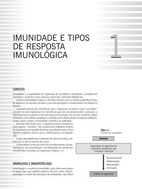 IMUNIDADE E TIPOS DE RESPOSTA IMUNOLÓGICA - Ponto Frio