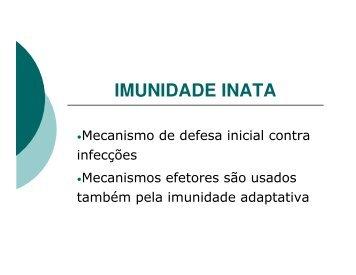 IMUNIDADE INATA - nupeb