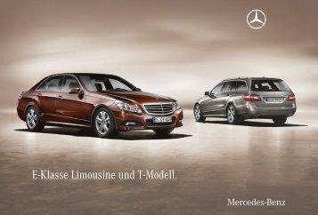 E-Klasse Limousine und T-Modell.