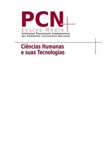 Ciências Humanas e suas Tecnologias - Ministério da Educação
