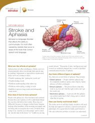 Let's Talk About Stroke and Aphasia - American Stroke Association
