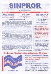 Fevereiro 2003 - SINPROR