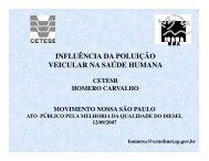 Óleo Diesel - Rede Nossa São Paulo