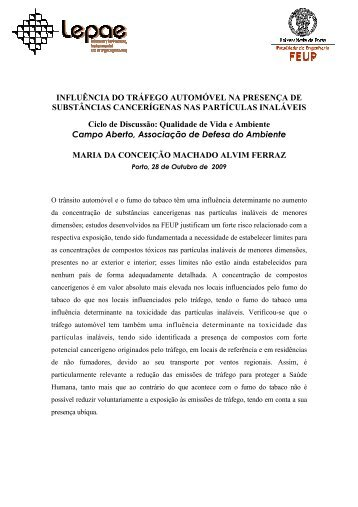 apresentação - Campo Aberto