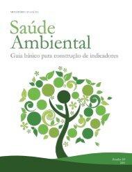 Saúde ambiental: guia básico para a construção de indicadore, 2011.