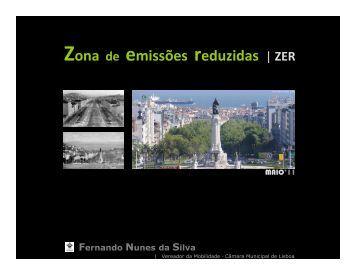 Zona de emissões reduzidas | ZER - Câmara Municipal de Lisboa