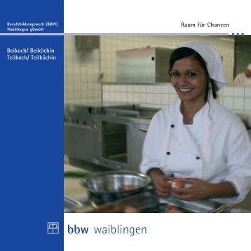 """""""Beikoch"""" zum Download (PDF, 758 KB) - BBW Waiblingen gGmbH"""