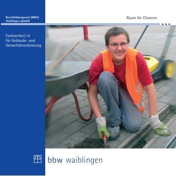 """""""Gebäude- und Umweltdienstleistung"""" zum Download (PDF-Datei"""