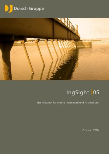 IngSight 05 - Oktober 2010 - dorsch.de