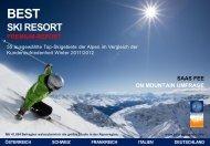 Best Ski Resort 2012 - Saas-Fee