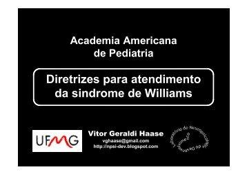 Diretrizes para atendimento da sindrome de Williams - SW Brasil