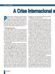 A crise internacional e seus efeitos no Brasil - Abinee
