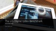 The U.S. Digital Video Benchmark