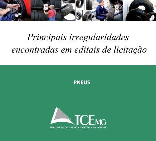 Principais irregularidades encontradas em editais de licitação