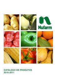 CATÁLOGO DE PRODUTOS 2010-2011 - Nufarm