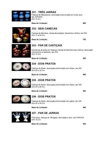 Catálogo 2ª Sessão - Porto Antigo Leilões