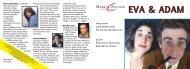 Program EVA & ADAM (PDF) - Markus Zohner Theater Compagnie