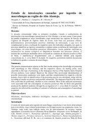 Estudo de intoxicações causadas por ingestão de macrofungos na ...