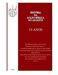 75 anos da Acção Bíblica no Algarve - AB Portugal
