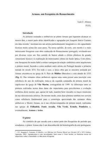 Arnaus, um fresquista do Renascimento - Rota do Românico
