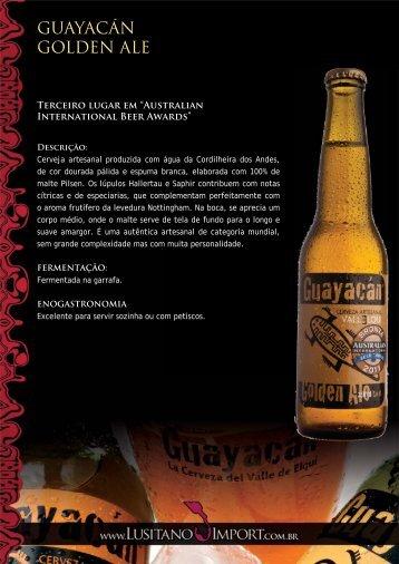 Cervejas Guayacan - Lusitano Import