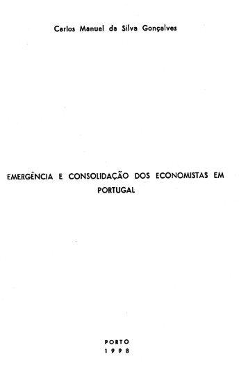 Carlos Manuel da Silva Gonçalves EMERGÊNCIA E ...