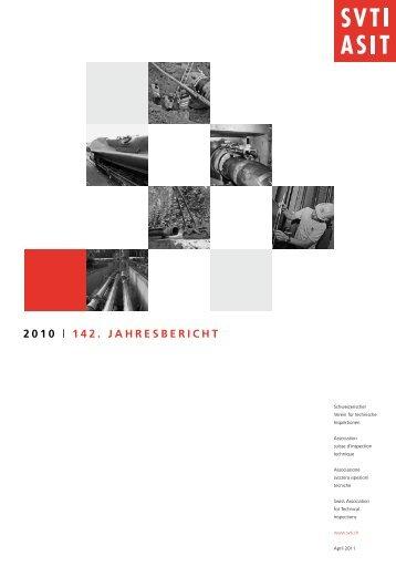 2010 | 142. Jahresbericht - SVTI