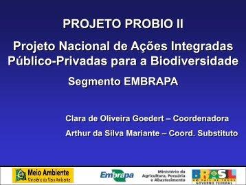 Embrapa - Ministério do Meio Ambiente