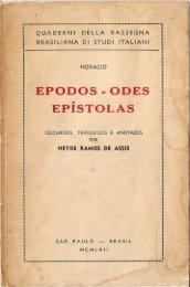 Epodes – Odes