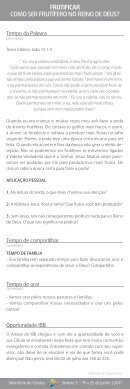 Roteiro 03 - Frutificar: Como ser frutífero no reino - Page 2