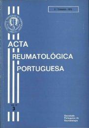 1975 Volume III, 3, 3º Trimestre - Acta Reumatológica Portuguesa ...