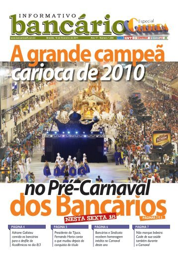 Nesta sexta 18 - Sindicato dos Bancários de Brasília