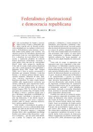Federalismo plurinacional e democracia ... - Editorial Galaxia