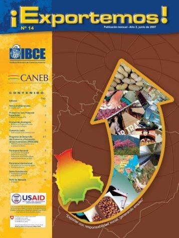 Revista EXPORTEMOS Nº 14 - IBCE