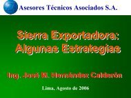 SIERRA EXPORTADORA - Ata.com.pe