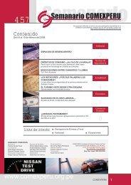 Semanario COMEXPERU Nº 457 - ComexPerú
