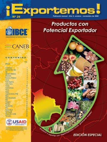 Revista EXPORTEMOS Nº 29 - IBCE