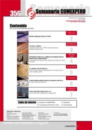 Semanario COMEXPERU Nº 356