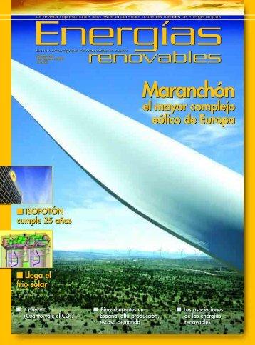 Descargar revista en PDF - Energías Renovables
