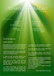 Sinais de Oração - Vida Orante