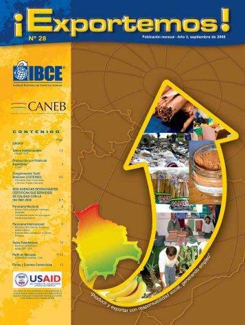 Producción con Potencial Exportador: Canela - IBCE