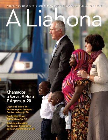 Setembro de 2012 A Liahona - The Church of Jesus Christ of Latter ...